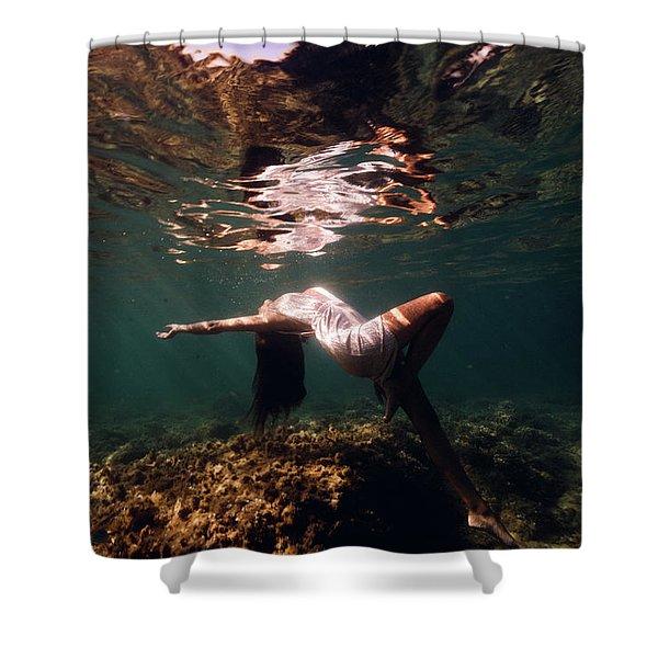Fashion Mermaid II Shower Curtain