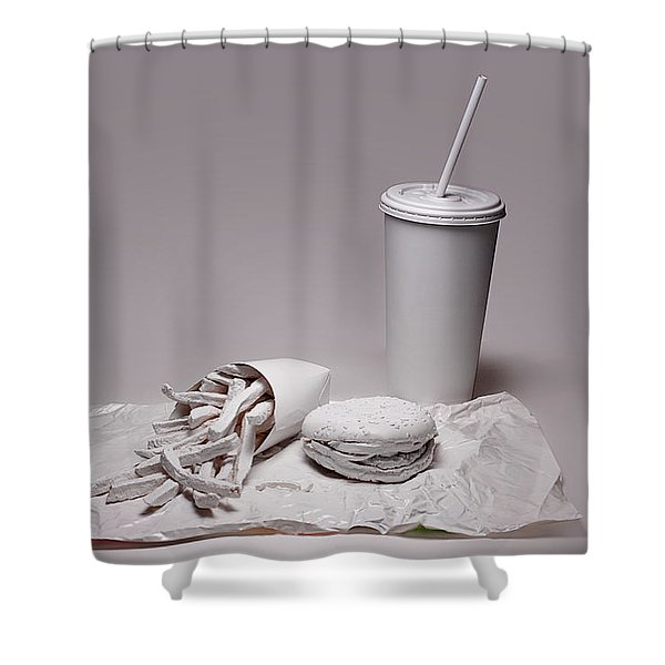 Fast Food Drive Through Shower Curtain