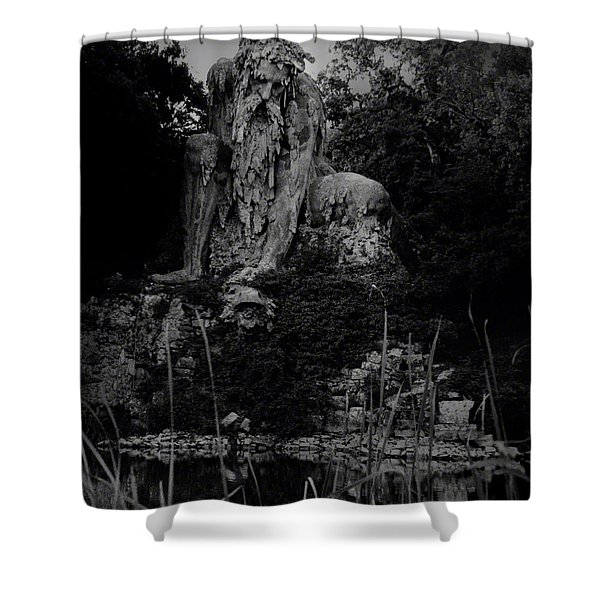 Father Nature Shower Curtain