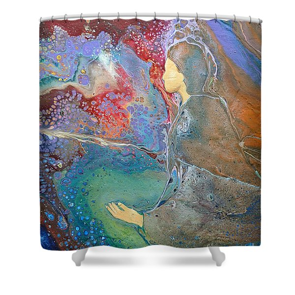 Father Of Lights Shower Curtain