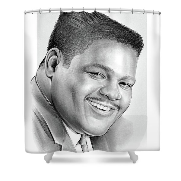 Fats Domino Shower Curtain
