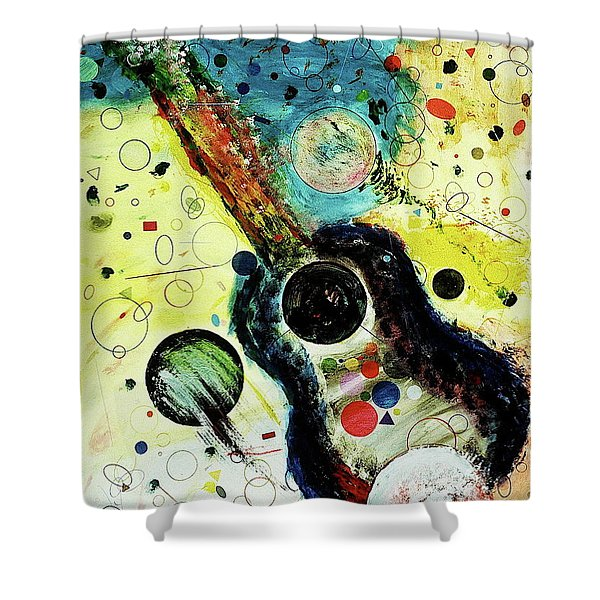 Shower Curtain featuring the mixed media Favorites by Michael Lucarelli
