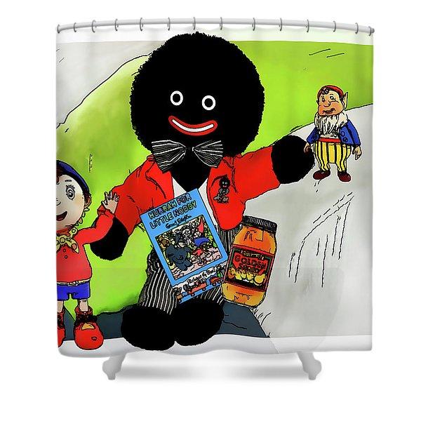 Favourite Childhood Memories Shower Curtain