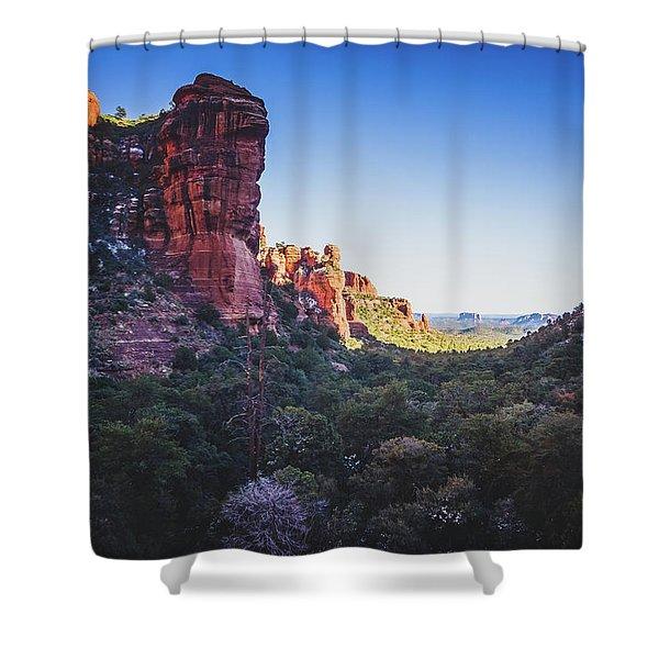Fay Canyon Vista Shower Curtain