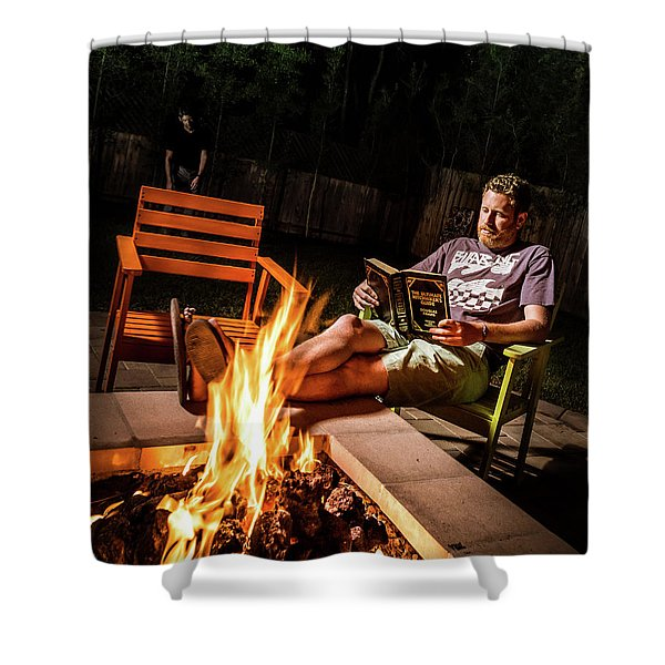 Fear By Fire Shower Curtain