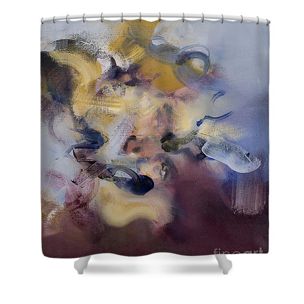 Fear Of Letting Go Shower Curtain