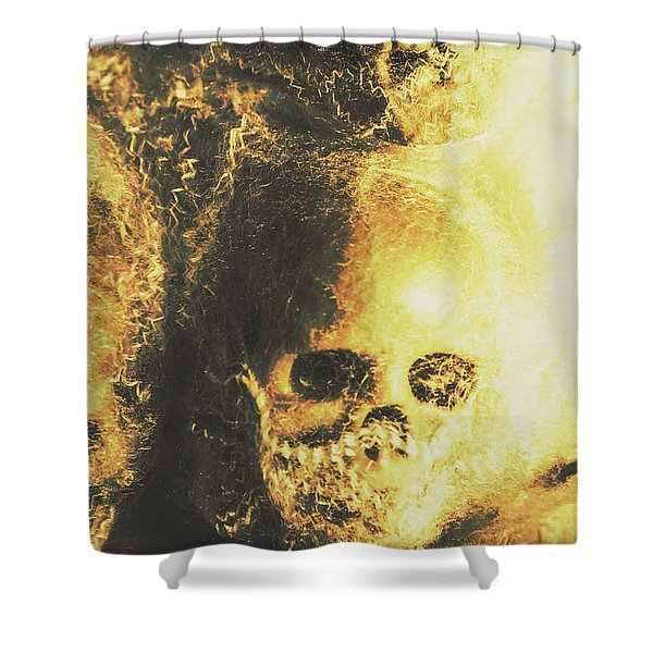 Fear Of The Capture Shower Curtain