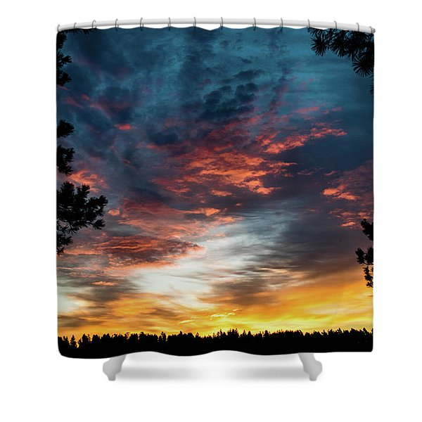 Shower Curtain featuring the photograph Fearless Awakened by Jason Coward