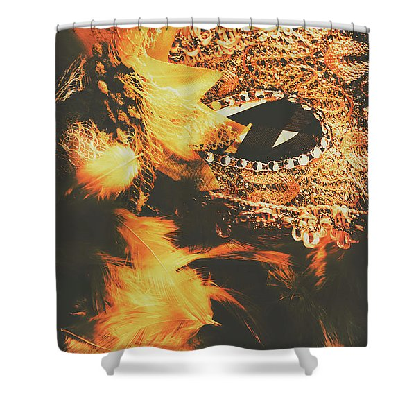 Feathers And Femininity  Shower Curtain