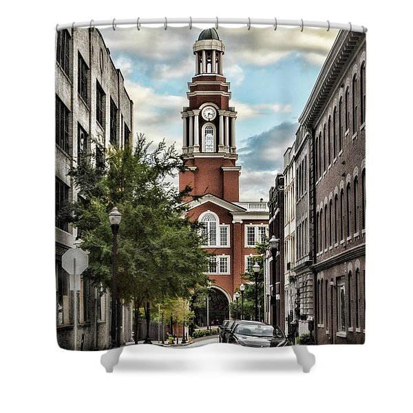 Federal Courthouse Knoxville Shower Curtain