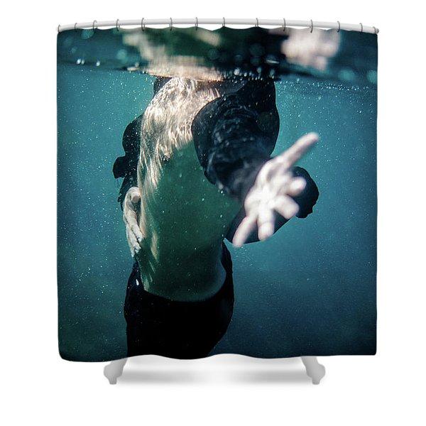 Feel II Shower Curtain