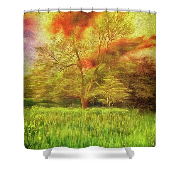 Feel The Love Shower Curtain