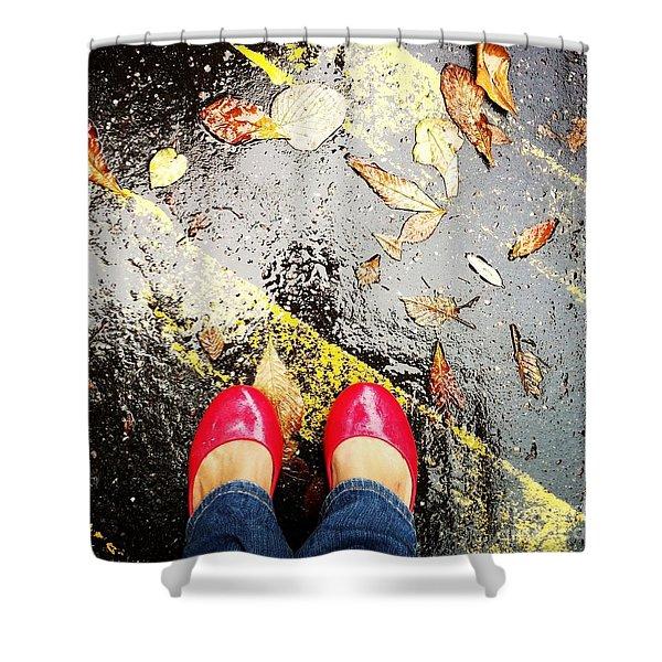 Feet Around The World #29 Shower Curtain