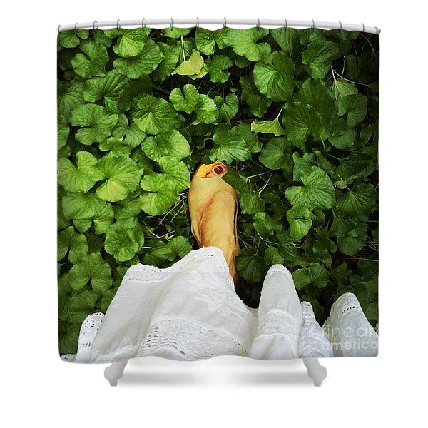 Feet Around The World #3 Shower Curtain