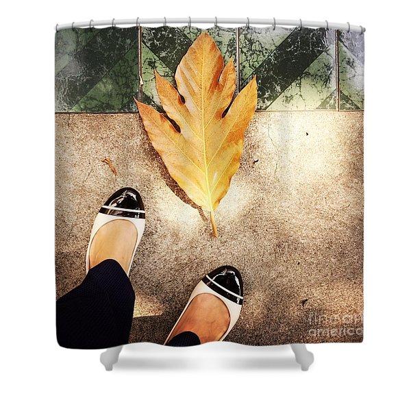Feet Around The World #30 Shower Curtain