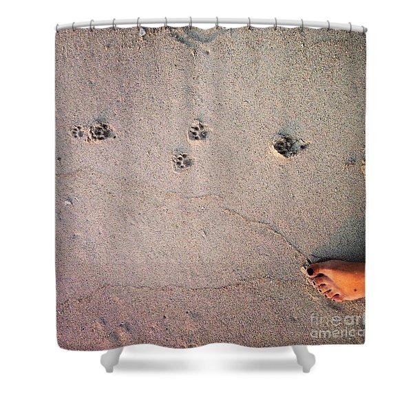 Feet Around The World #31 Shower Curtain