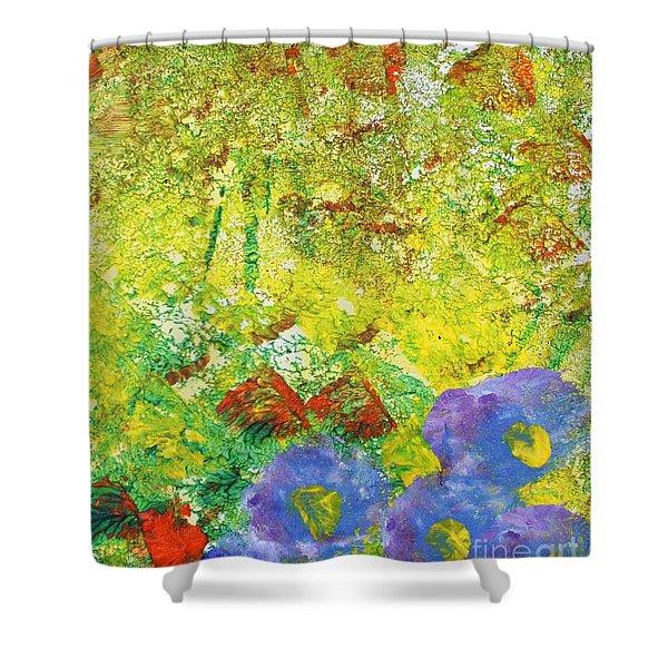 Jubilation  Shower Curtain