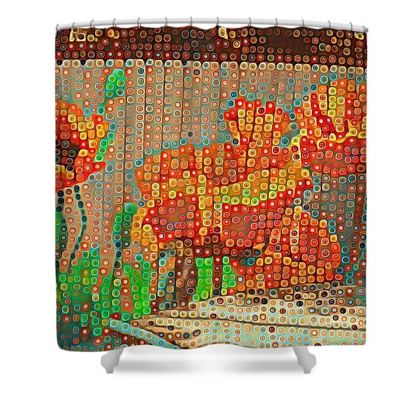 Fence Art Shower Curtain