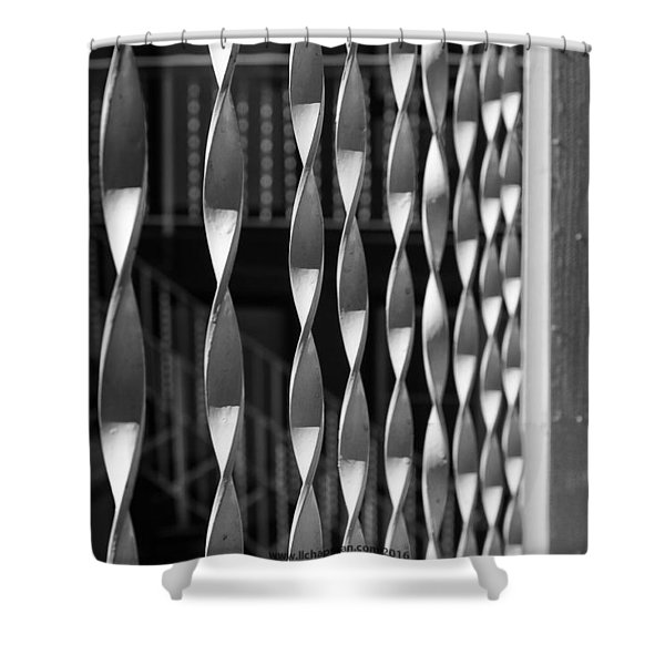 Fence Song  Shower Curtain