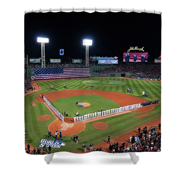 Fenway Park World Series 2013 Shower Curtain