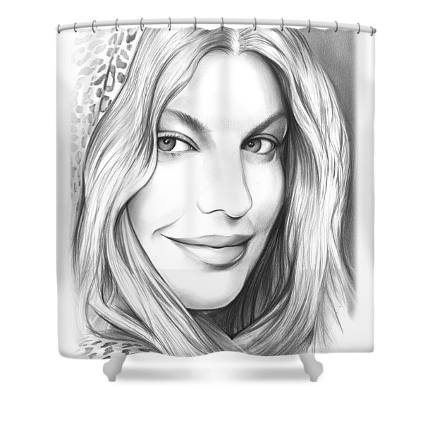 Fergie Shower Curtain