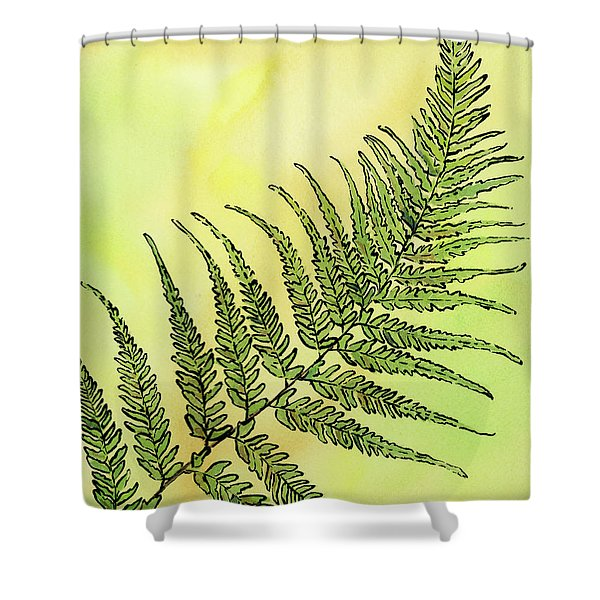 Fern 1 Shower Curtain