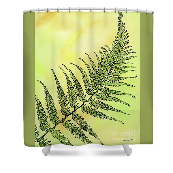Fern 1 Shower Curtain