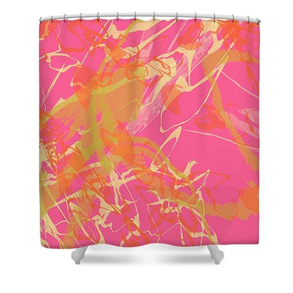 Fern Palette Painting #1 Shower Curtain