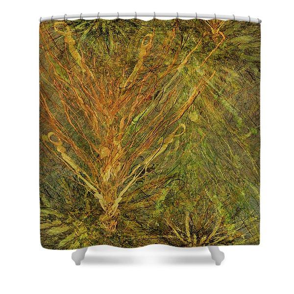 Fern Series #1 Shower Curtain