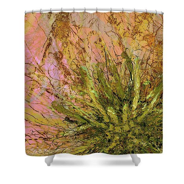 Fern Series 32 Fern Burst Shower Curtain