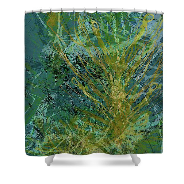 Fern Series 36 Shower Curtain