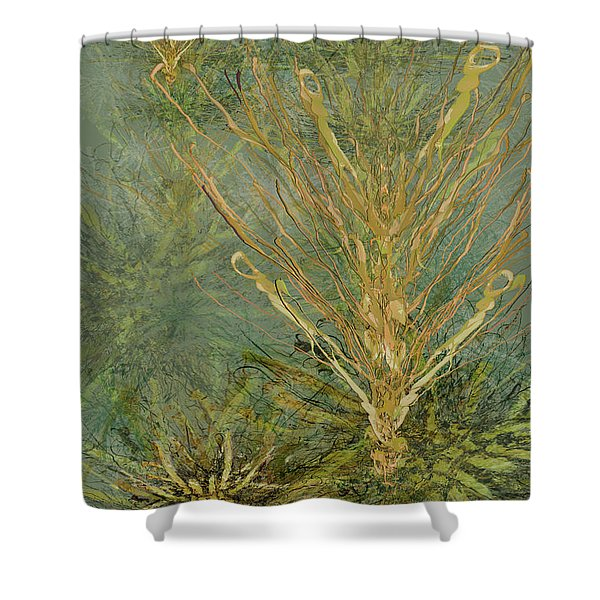 Fern Series #5 Shower Curtain