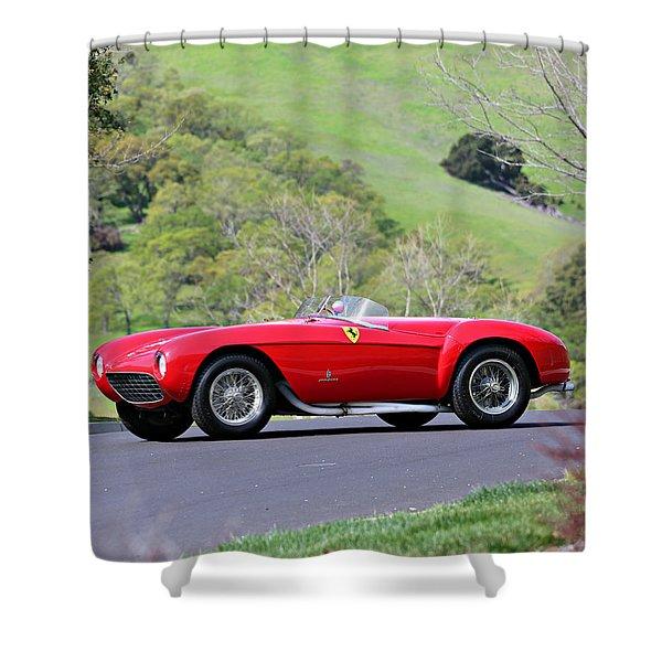 Ferrari 500 Mondial Shower Curtain