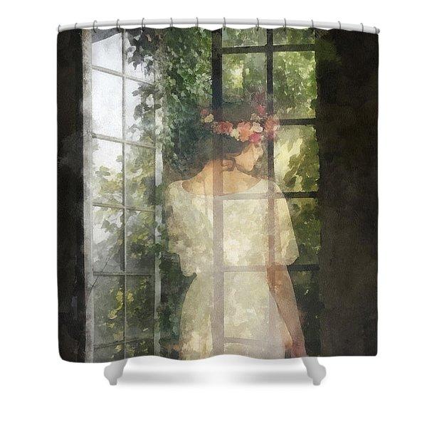 Fidelity Shower Curtain
