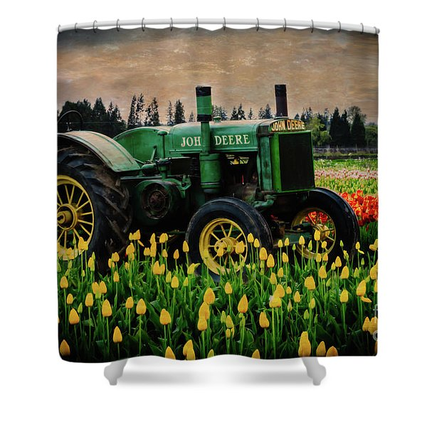 Field Master Shower Curtain