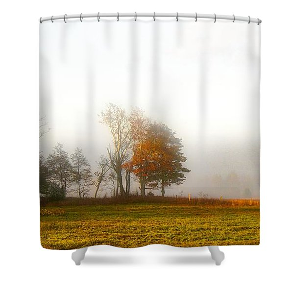 Field Of The Morn Shower Curtain