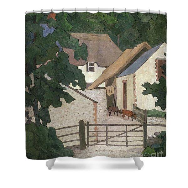 Field's Farm, Somerset Shower Curtain