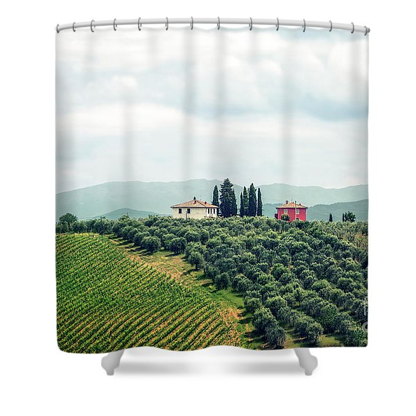 Fields Of Heavenly Delights Shower Curtain