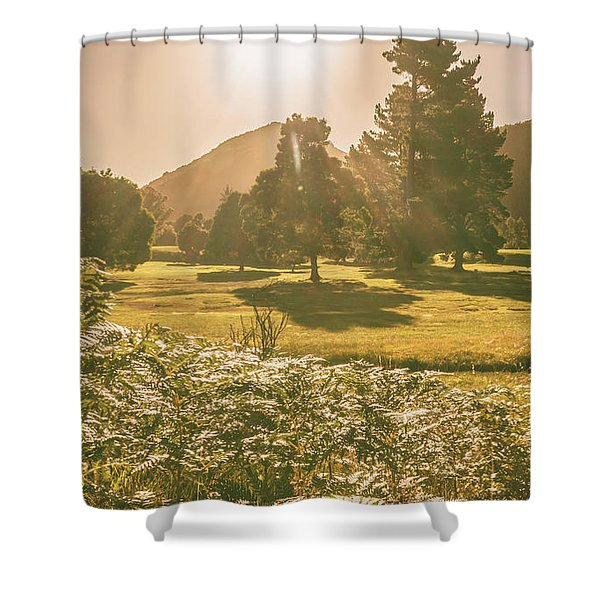 Fields Of Springtime Shower Curtain