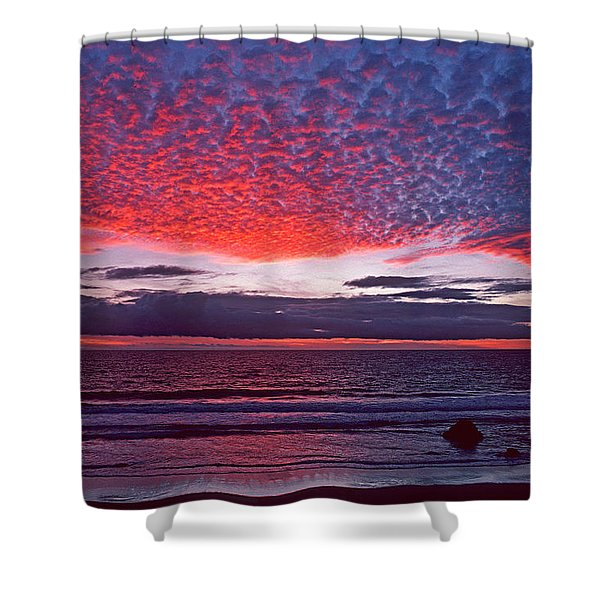 Fiesta In The Sky Shower Curtain
