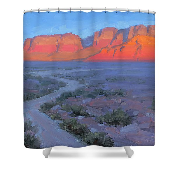 Fife And Ice Shower Curtain