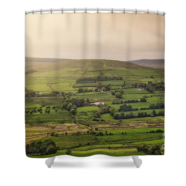Fifty Shades Of Green Shower Curtain