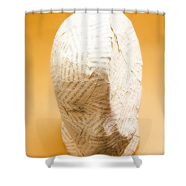 Figurative Poetry Shower Curtain