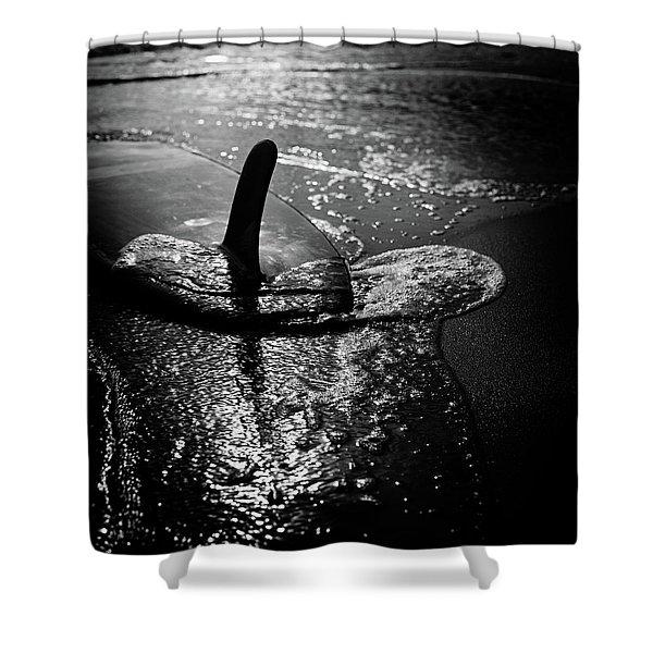 fin Shower Curtain