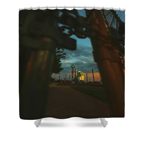 Final Stage Shower Curtain
