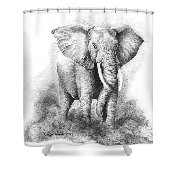 Final Warning Shower Curtain