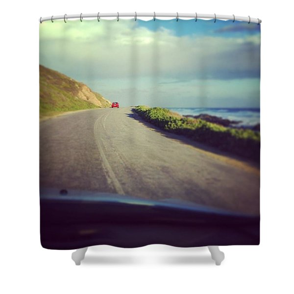 Roadtrip Shower Curtain