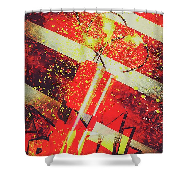 Financial Meltdown Coming Soon Shower Curtain