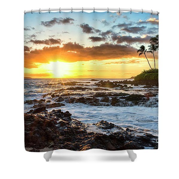 Find Your Beach 2 Shower Curtain
