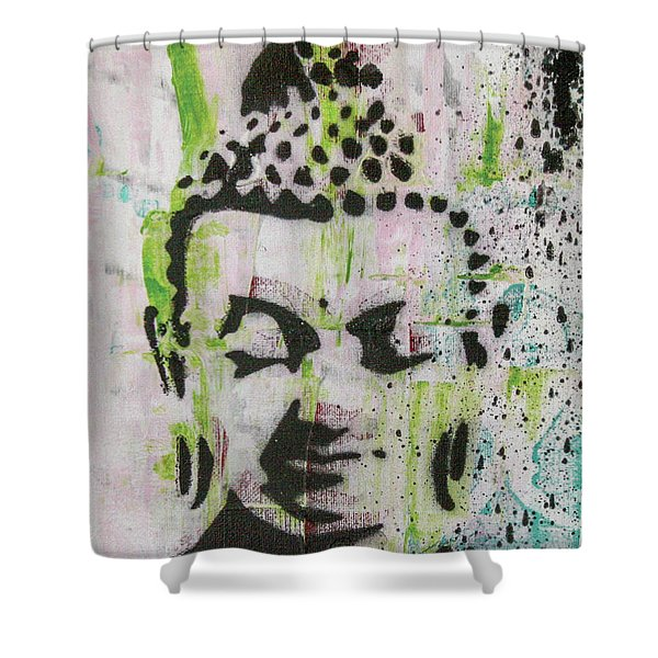 Find Your Own Light Shower Curtain